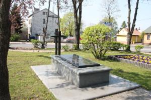 Pomnik upamiętniający egzekucję ludności polskiej w październiku 1943 r.