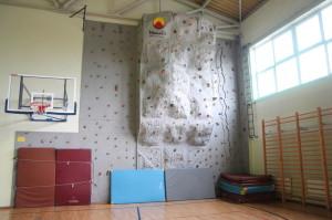 Sztuczna ścianka wspinaczkowa, Salezjańskie Gimnazjum