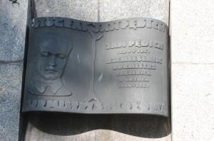 Tablica pamięci Jana Pędicha