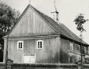 Kościół Św. Rocha, fotografia ze zbiorów Miejskiej Biblioteki Publicznej